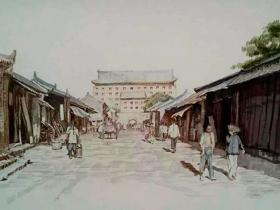 记忆老西安|朱文杰:西关正街