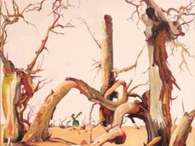 肖亦农|画胡杨的乌日娜