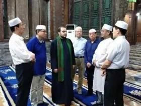 伊朗诵经师哈菲兹贾西姆到陕西省举行诵经活动
