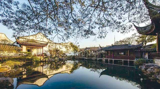 中国四大名园之一:苏州留园